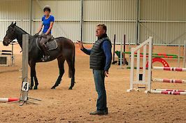 Field Farm Cross Country Indoor Arena with Nick Turner