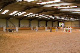 Field Farm Cross Country Indoor Arena varied jumps 2