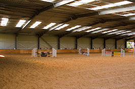 Field Farm Cross Country Indoor Arena varied jumps 3