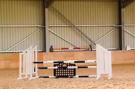 Field Farm Cross Country Indoor Arena varied jumps 5