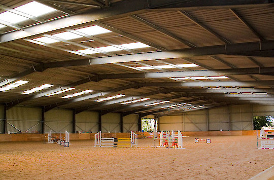 Field Farm Cross Country Indoor Arena