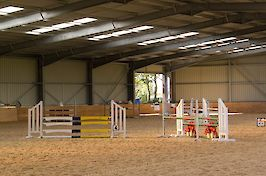 Field Farm Indoor Arena Jumps